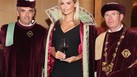 DIAPO Adriana Karembeu élégante et sexy pour l'amour du vin