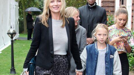 PHOTOS Kate Moss et sa fille Lila: duo fashion au défilé Topshop