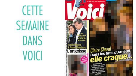 Cette semaine dans Voici: Claire Chazal effondrée dans les bras d'Arnaud Lemaire, Shy'm en couple