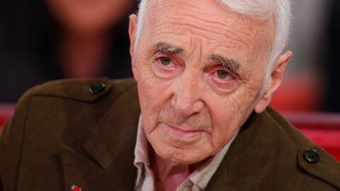 Affaibli, Charles Aznavour explique pourquoi il a besoin d'un prompteur sur scène