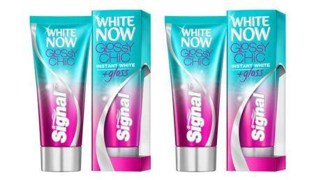 Glossy Chic, le nouveau dentifrice White Now chez Signal