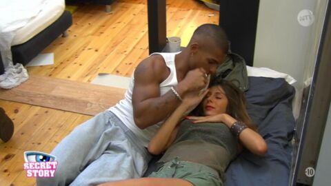 Secret Story 10: Marvin touche les seins de Sarah (mais c'est pour la mission)
