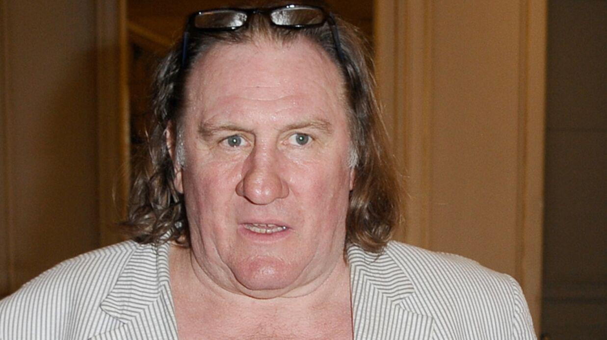 Après avoir uriné, Gérard Depardieu s'est fait éjecter de l'avion