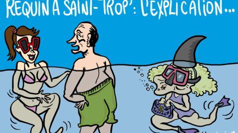 Louison a croqué… Bernadette et ce dragueur de Jacques Chirac