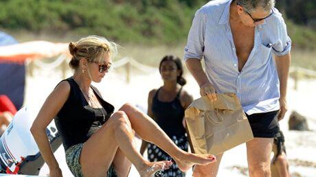 DIAPO En vacances, Kate Moss a pris du poids