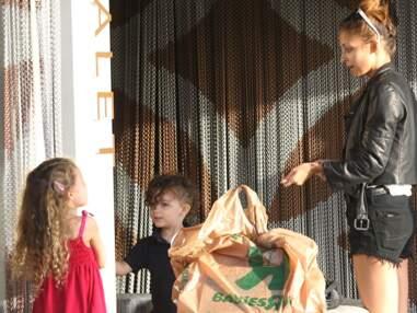 Nicole Richie et Joel Madden avec leurs enfants Harlow et Sparrow