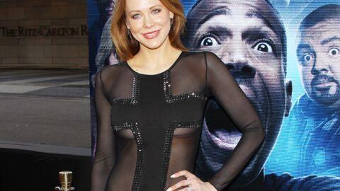 PHOTOS Le look raté du jour: l'actrice Maitland Ward et sa robe transparente