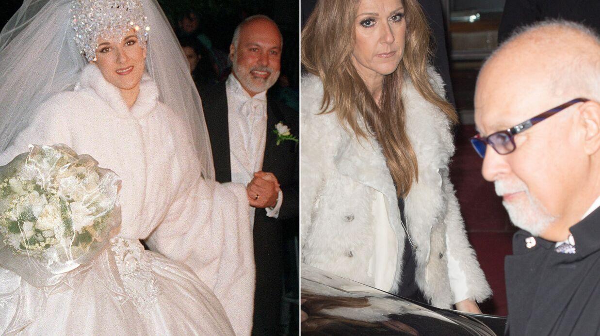DIAPO Céline Dion et René Angélil: 20 ans de mariage en images