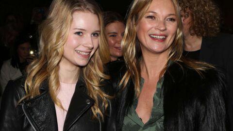 PHOTOS Kate Moss et sa petite sœur Lottie très complices au défilé Topshop