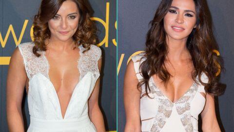DIAPO Priscilla Betti et Leila Ben Khalifa très sexy et décolletées aux Melty Future Awards