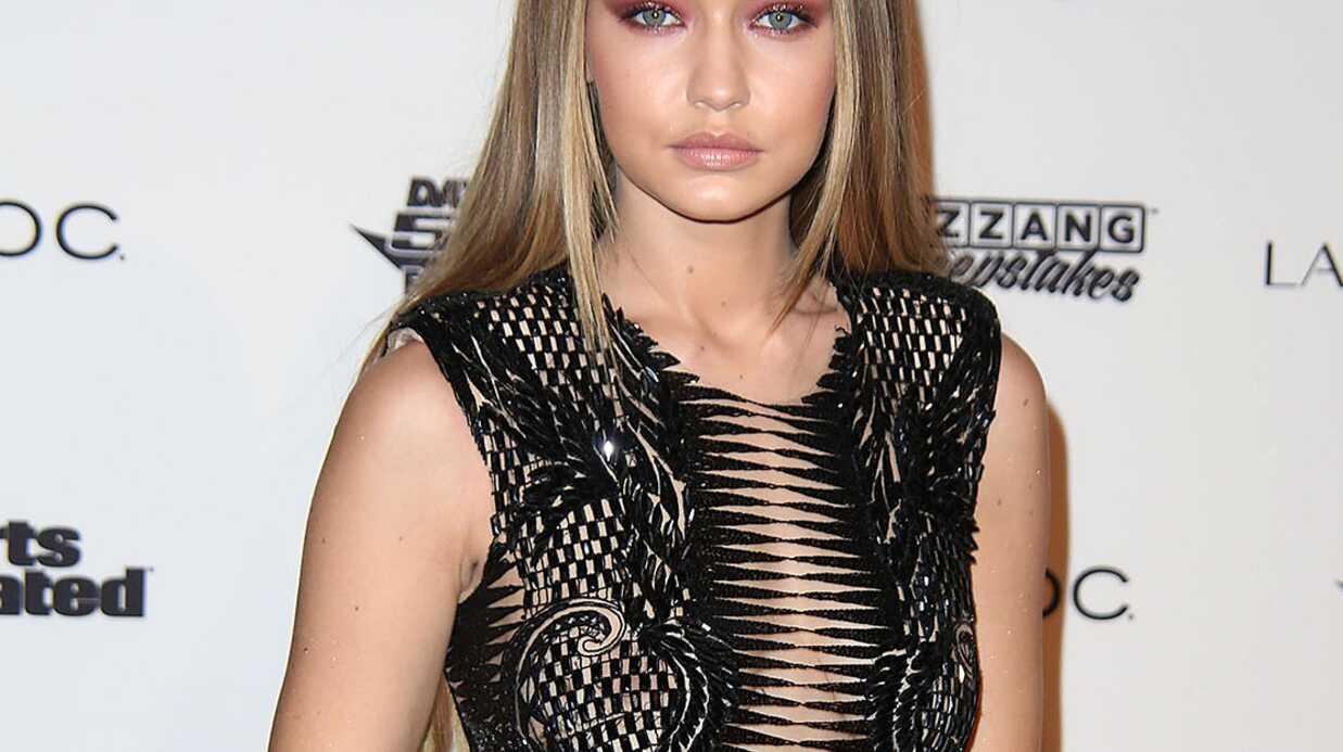 PHOTOS Très sexy dans sa combinaison ajourée, Gigi Hadid dévoile tout ou presque