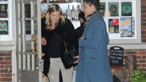DIAPO Kate Moss fête ses 39 ans au pub avec Jamie Hince