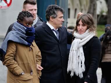 Charlie Hebdo : Obsèques d'Honoré et de Mustapha Ourrad au Père-Lachaise