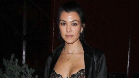 PHOTOS Seins à l'air, Kourtney Kardashian sort faire la fête avec Justin Bieber