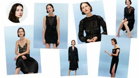 Léa Peckre réinvente la petite robe noire pour La Redoute