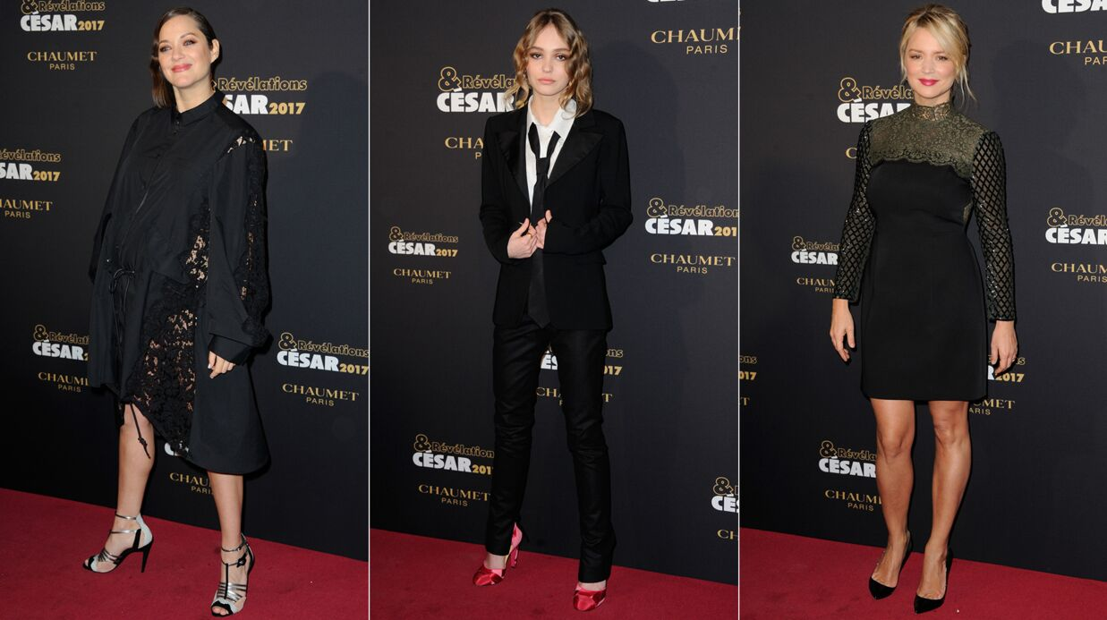 PHOTOS Révélations des César: Marion Cotillard en dentelle, Lily-Rose Depp chic, Virginie Efira sexy