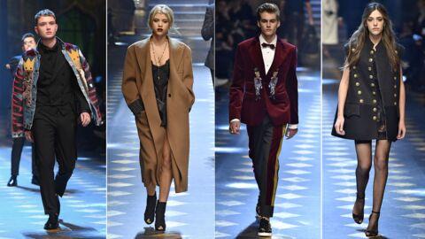 PHOTOS Presley Gerber, les soeurs Stallone, Rafferty Law… Défilé de «filles et fils de» chez Dolce & Gabbana