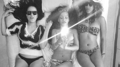 Découvrez l'album photo des vacances de Rihanna