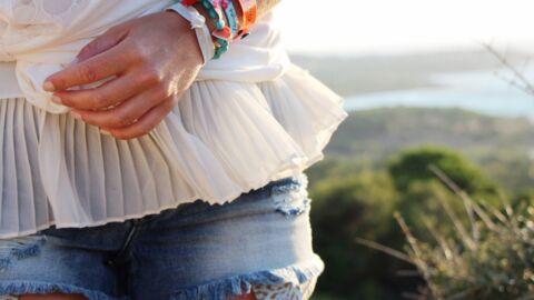Marieluvpink: le short en jean, incontournable de l'été
