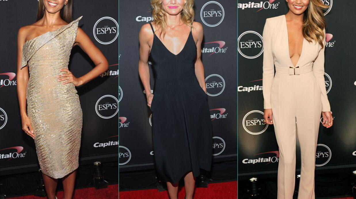 PHOTOS Jessica Alba, Cameron Diaz et Chrissy Teigen lumineuses aux ESPY Awards