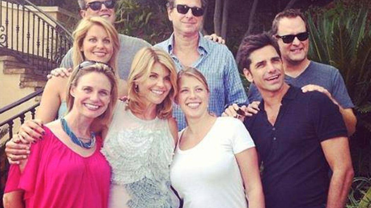 PHOTO La fête à la maison version 2015: les acteurs se retrouvent sur le tournage