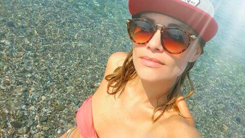 PHOTOS Joy Esther (Nos chers voisins) sexy et amoureuse en vacances