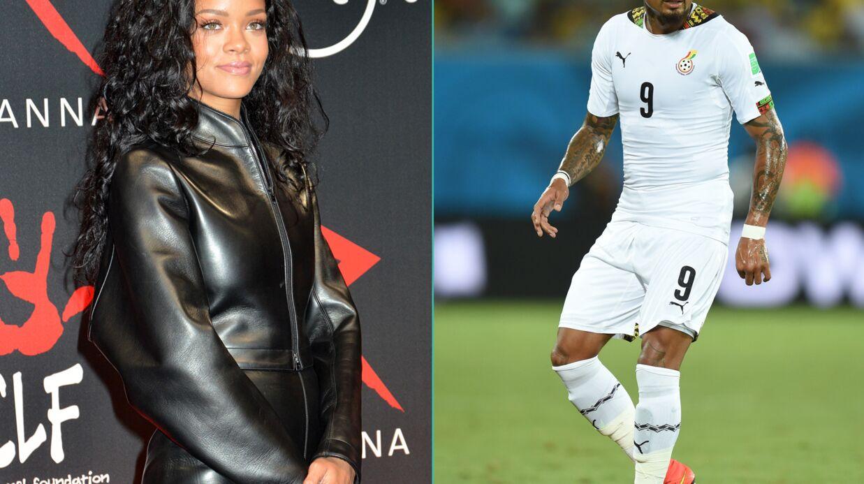 Rihanna craque pour un footballeur ghanéen (qui est en couple avec une bombe)