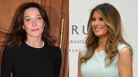 Carla Bruni défend Melania Trump après la diffusion de ses anciennes photos nues