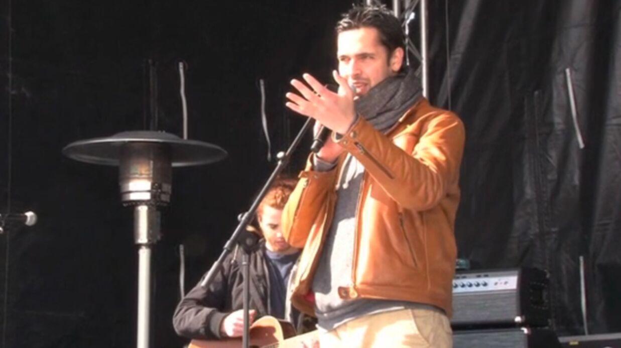 VIDEO Yoann Fréget en concert avec Christophe Maé avant The Voice