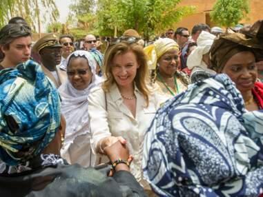 DIAPO Valérie Trierweiler : première dame version humanitaire au Mali