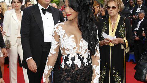 PHOTOS Cannes: Ayem en transparence, des gambettes et un dragon sur le tapis rouge