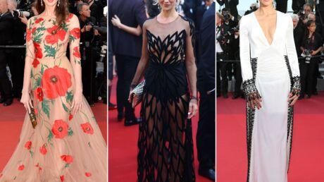PHOTOS Cannes 2016: Frédérique Bel en robe transparente, Adriana Lima très décolletée pour Almodóvar