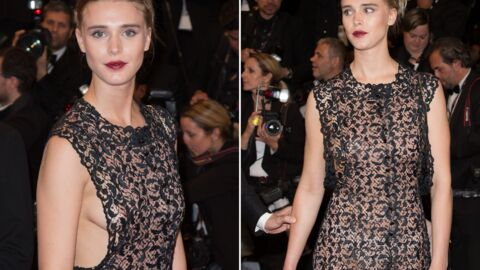 DIAPO Cannes – Gaia Weiss : side boob et transparence, la fausse petite amie de Francis Huster ultra sexy