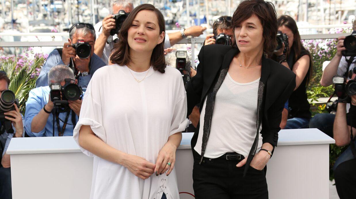 PHOTOS Cannes 2017: Marion Cotillard et Charlotte Gainsbourg lancent en beauté le Festival