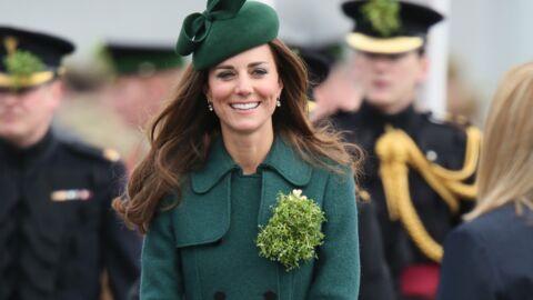 DIAPO Rentrée de vacances, Kate Middleton affiche sa bonne mine pour la Saint Patrick