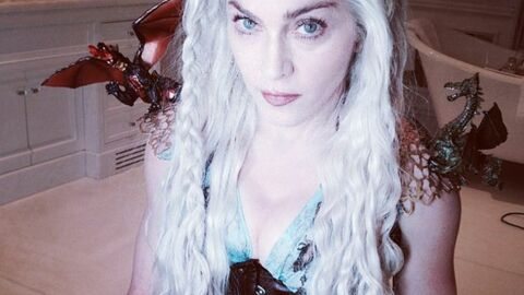 PHOTO Madonna se déguise en Daenerys de Game of Thrones