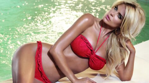 PHOTOS Victoria Silvstedt inspire une collection de maillots de bain