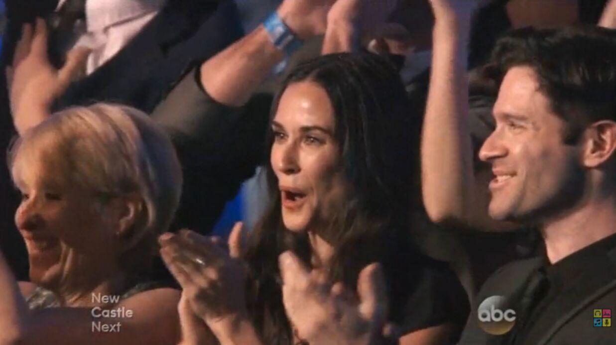 VIDEO Bruce Willis et Demi Moore réunis dans Danse avec les stars pour leur fille aînée