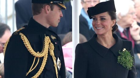Kate Middleton : une future maman rayonnante pour la St-Patrick avec William