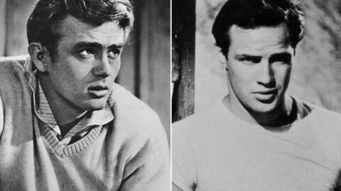 James Dean et Marlon Brando: leur violente et secrète love story sado-maso
