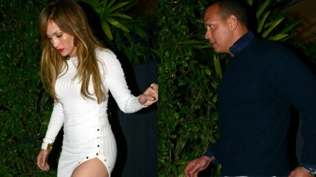 PHOTOS En robe très courte, Jennifer Lopez sort le grand jeu pour un dîner avec son nouveau chéri
