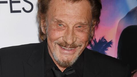 PHOTOS Johnny Hallyday de retour en studio, il lance « Fuck the Cancer ! »