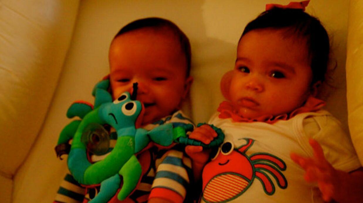 À sept mois, les jumeaux de Mariah Carey parlent déjà