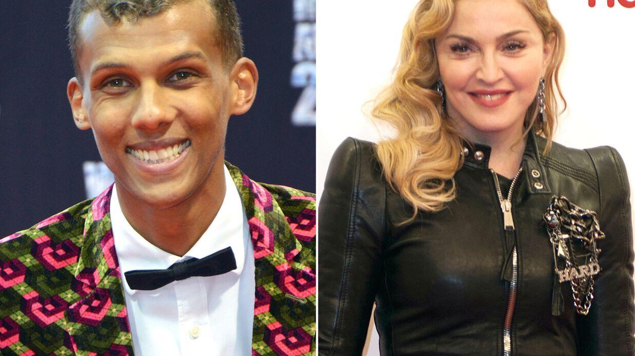 Madonna, marraine de Stromae pour sa conquête américaine?