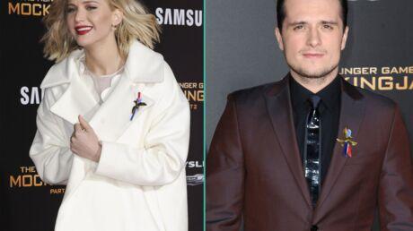 DIAPO Les stars de Hunger Games affichent leur soutien à la France à l'avant-première américaine