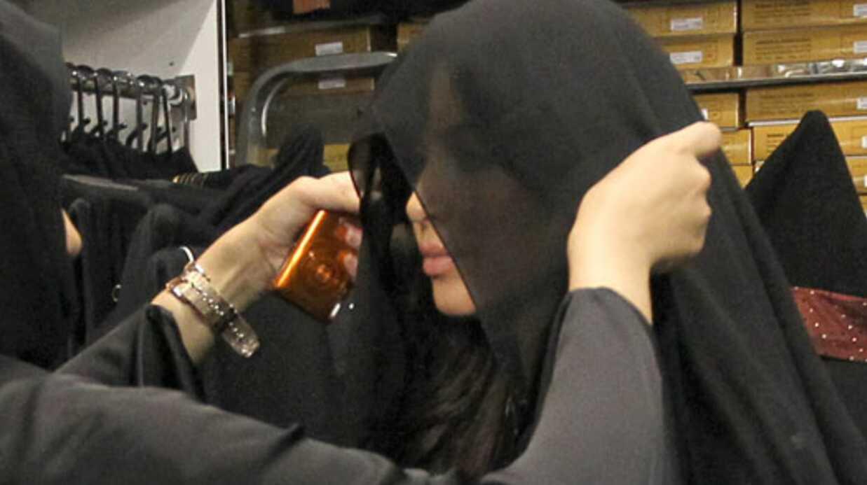PHOTOS Kim Kardashian en niqab à Dubaï