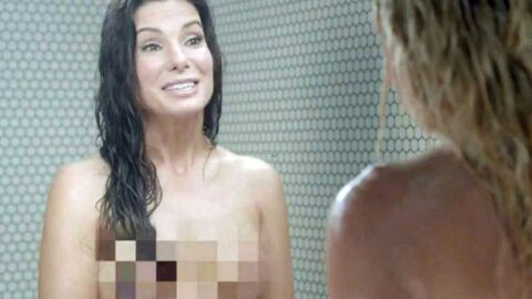 PHOTOS Sandra Bullock nue sous la douche avec une animatrice TV