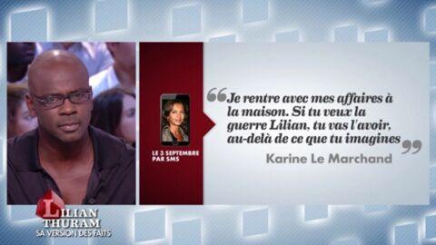 Lilian Thuram livre un témoignage accablant sur Karine Le Marchand