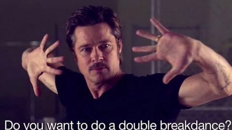 VIDEO Brad Pitt se lance dans une danse sexy pour un défi