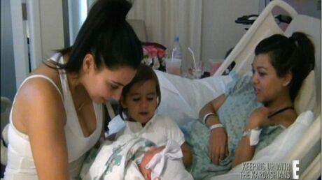 L'accouchement de Kourtney Kardashian dans les moindres détails